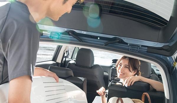 【レヴォーグ】の広さを検証!後部座席や荷室容量は?車中泊に使える広さ?